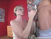 Milf Jody West Blowjob and Sucking
