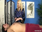 Cock Jerking Massage