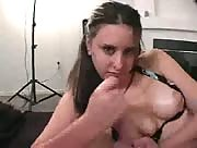 Hot amateur gives a great POV handjob