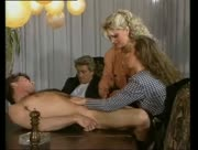 Retro Group Handjob and Tug Jobs